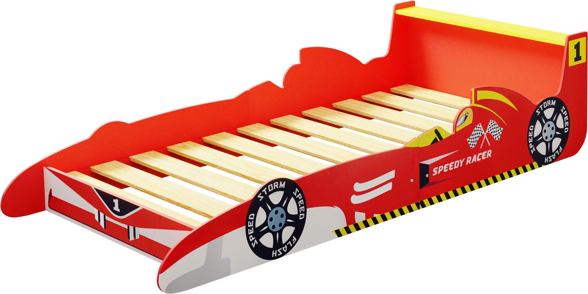 ib style speedy racer kinderbett 190 x 90 cm inkl lattenrost ib style. Black Bedroom Furniture Sets. Home Design Ideas