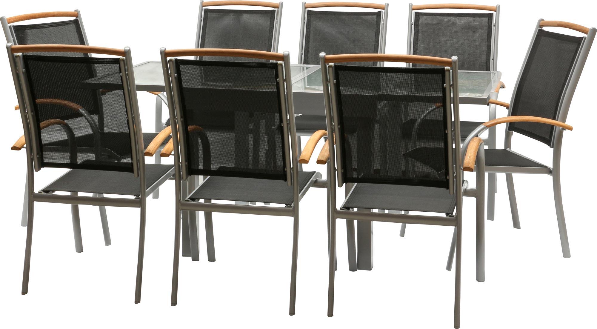 Salon de jardin diplomat quadro chaise empilable 3 for Chaises empilables