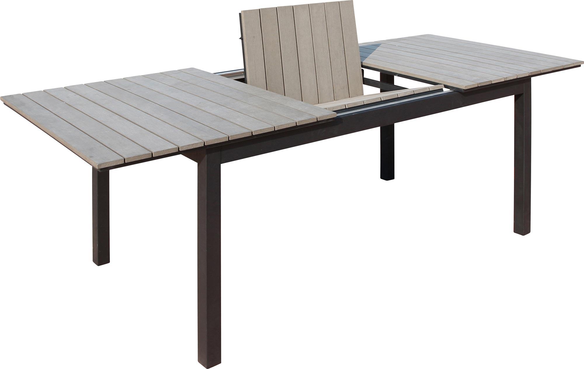 diplomat polywood m ausziehtisch gartengarnitur. Black Bedroom Furniture Sets. Home Design Ideas