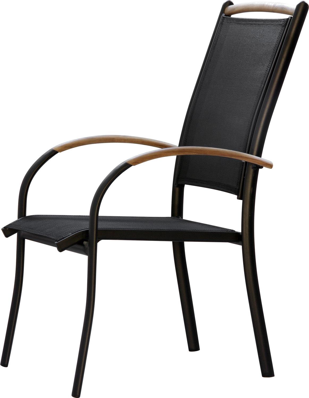 premium stapelst hle diplomat 6 kombinationen alu teak. Black Bedroom Furniture Sets. Home Design Ideas