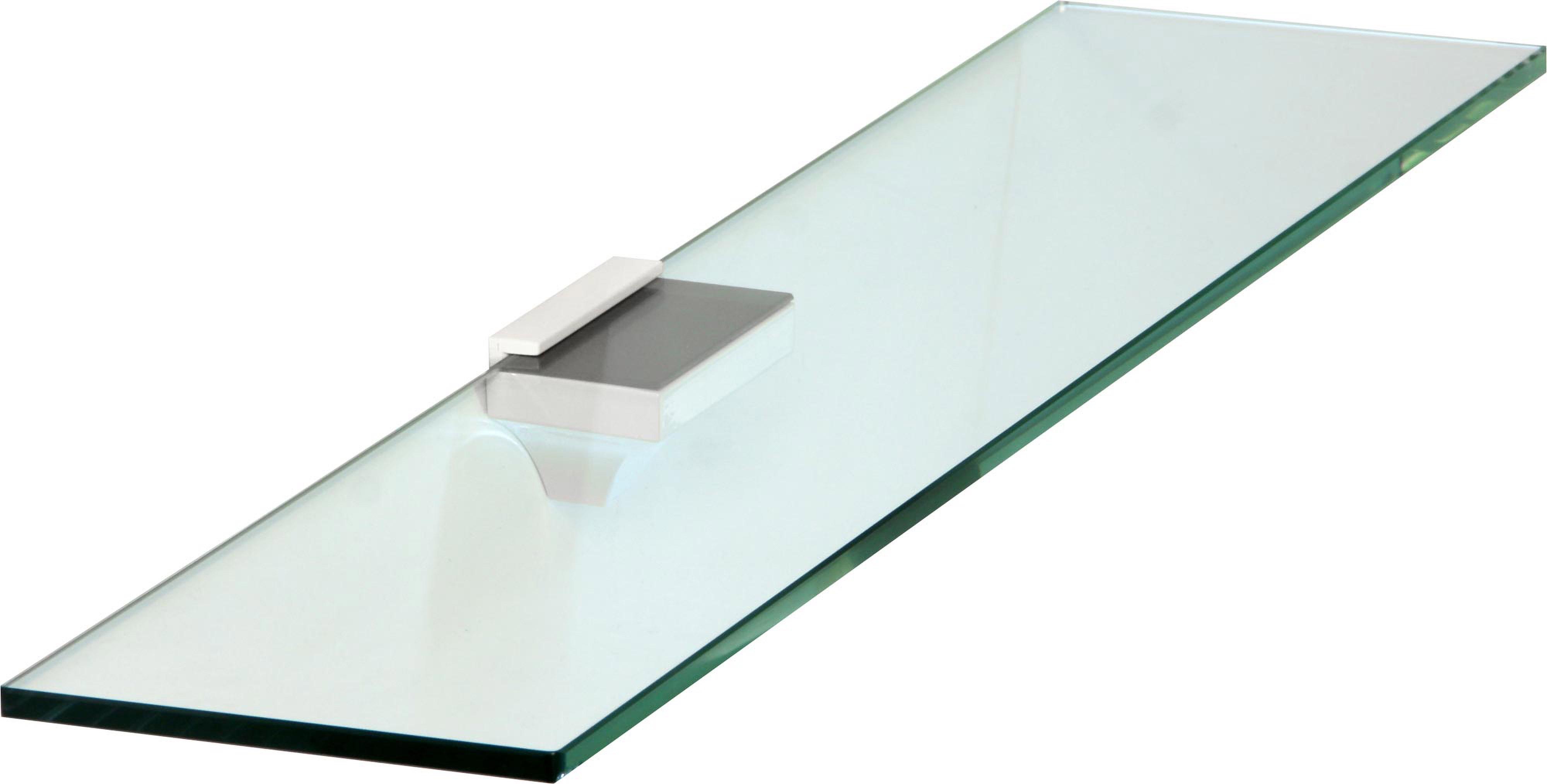 wandregal 8 mm bigclip centro 9 gr en klarglas satiniert glasregal regal ablage ebay. Black Bedroom Furniture Sets. Home Design Ideas