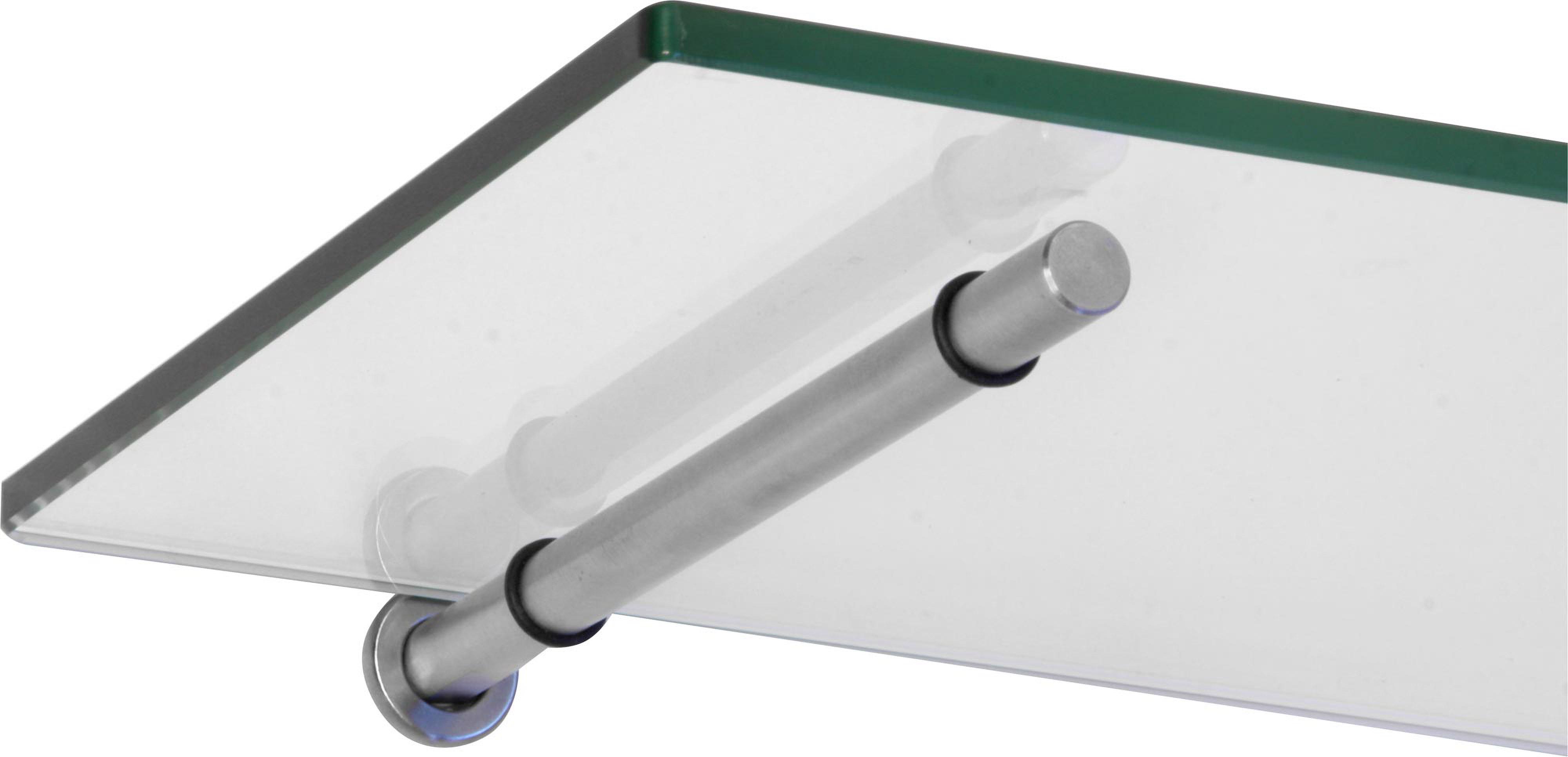 glasregal 8 mm stick tablarhalter 6 gr en klarglas. Black Bedroom Furniture Sets. Home Design Ideas