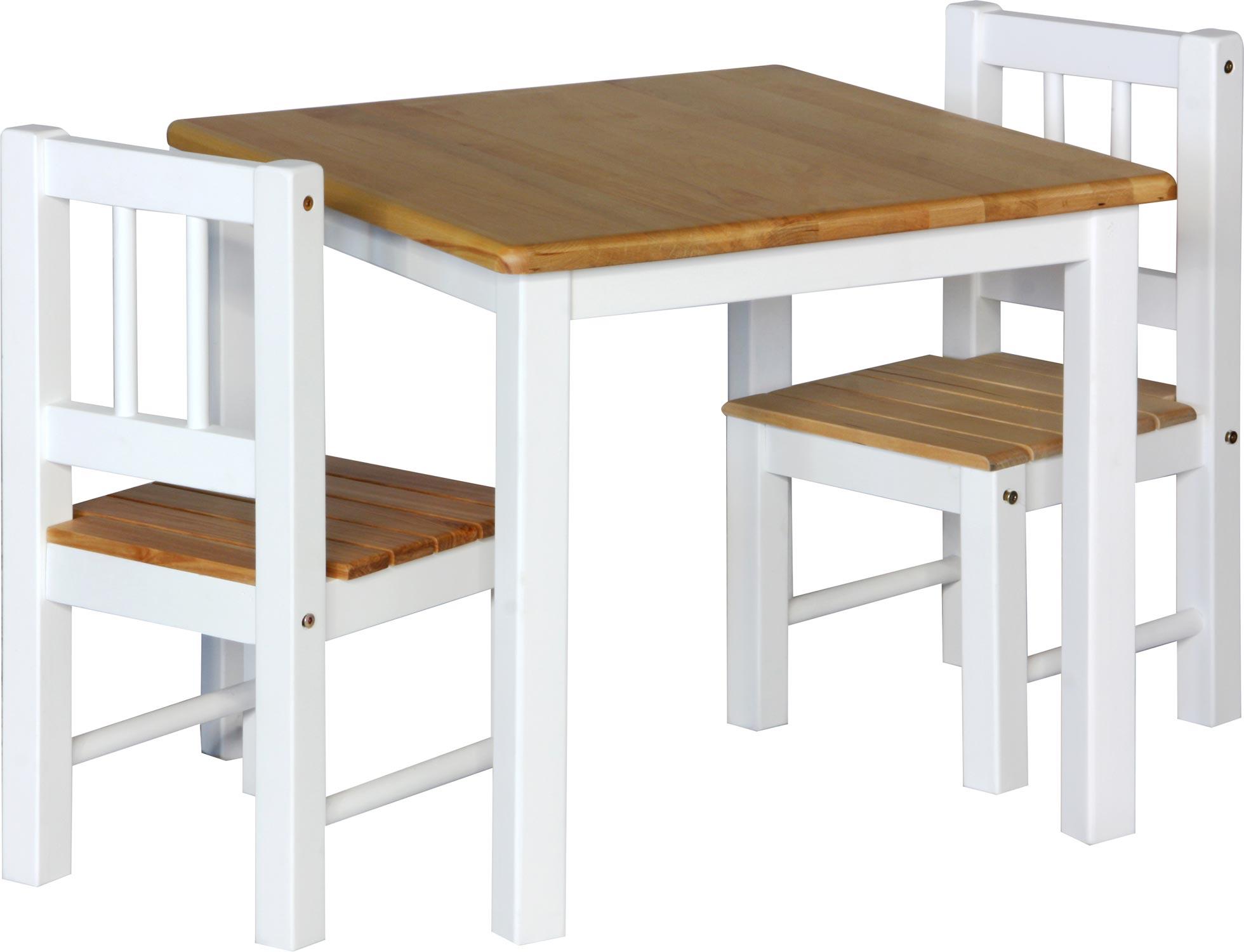 Set di mobili per bambini noa tavolo e sedie con - Tavolo e sedia per bambini ...