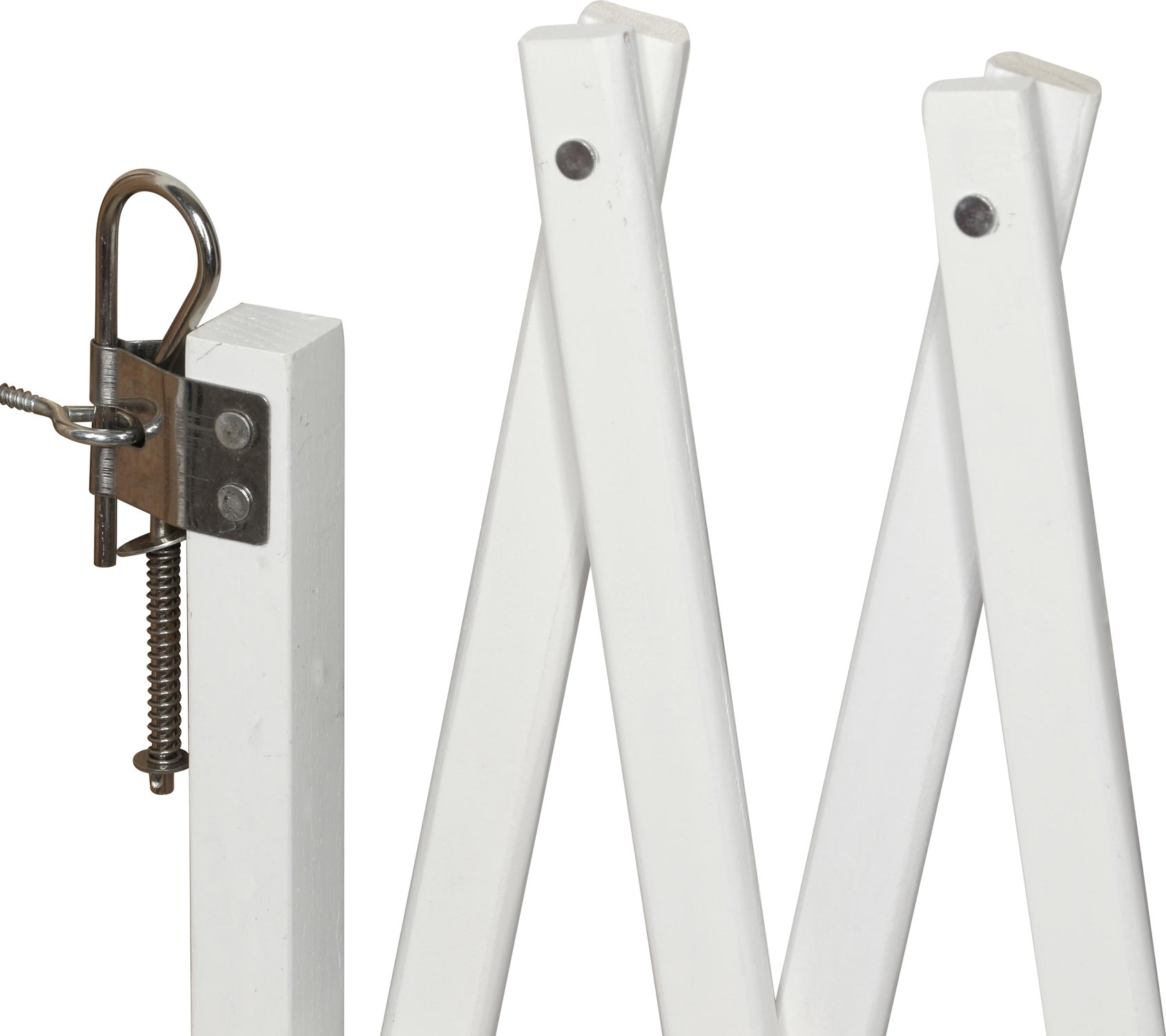 Safety Gate For A Dog Lin Natural Amp White 60 108 Cm