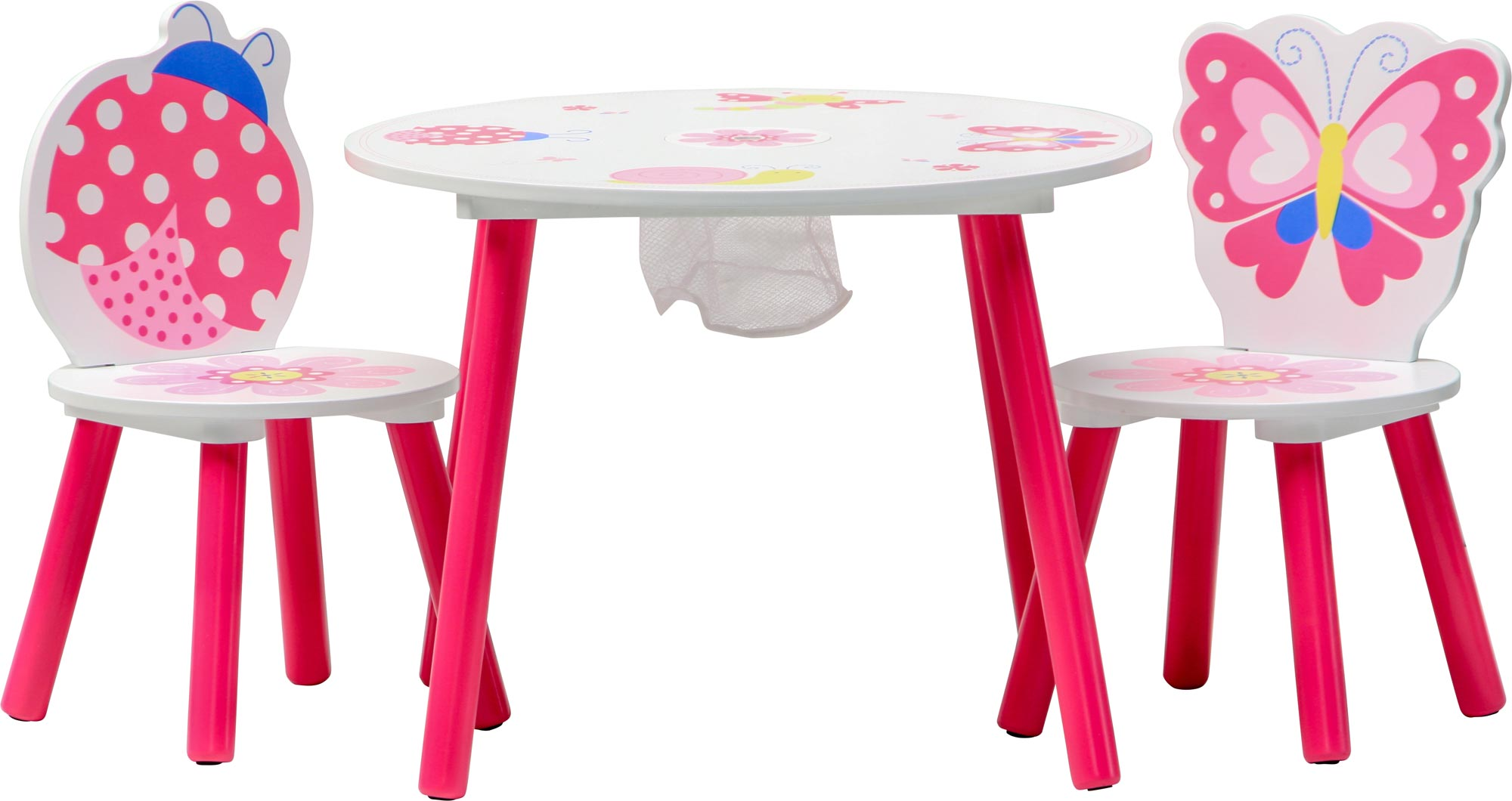 Ensemble table et 2 chaises enfant papillon set - Set table enfant ...