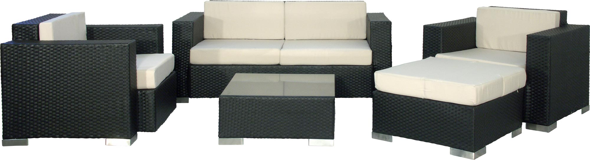 premium xxl loungegruppe gartenm bel polyrattan sitzgruppe gartenm bel lounge ebay. Black Bedroom Furniture Sets. Home Design Ideas