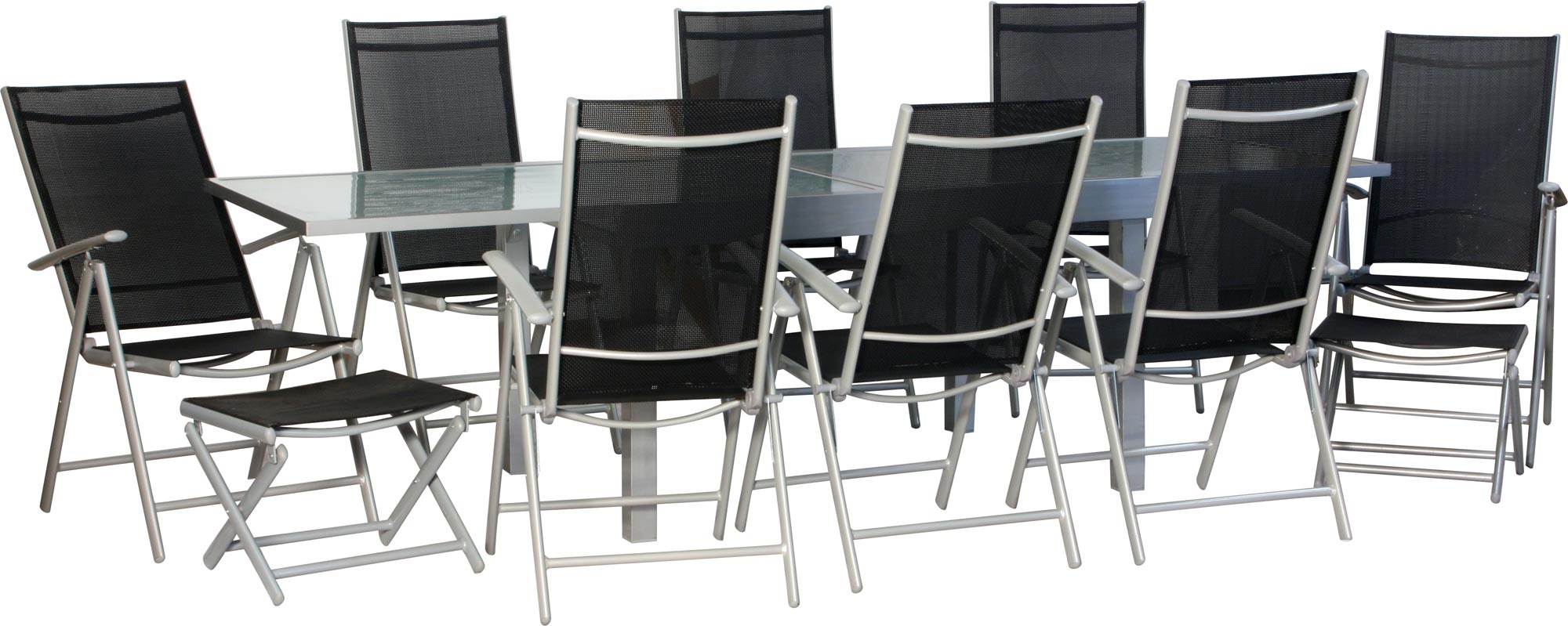 star xxl 19 tlg gartengarnitur gartenm bel gartengruppe garten sitzgruppe stuhl. Black Bedroom Furniture Sets. Home Design Ideas