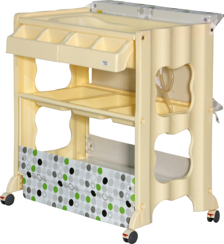 wickelkommode 3 dekore wickeltisch mit badewanne kinderm bel baby kommode ebay. Black Bedroom Furniture Sets. Home Design Ideas