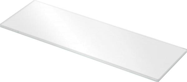 Glasboden 8 mm - weiß