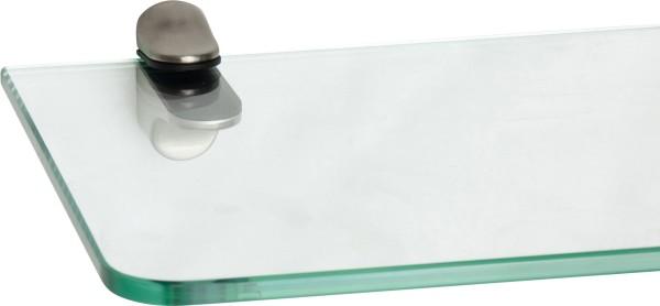 Glasregal 8mm abgerundet + Clip ILO