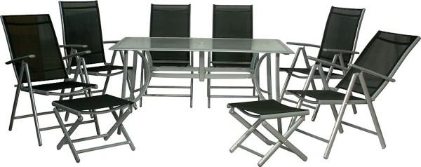 JAMAICA - Gruppe L-inkl. Tisch (150x 90 cm)
