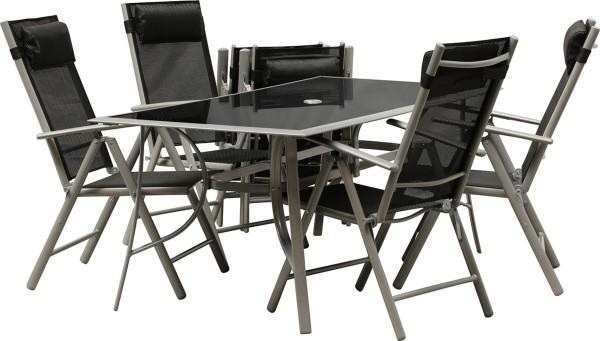 JAMAICA - Gruppe XL-inkl. Tisch (180x 90 cm)