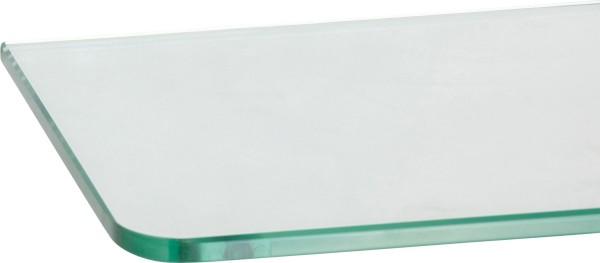 Glasboden 8 mm Glas abgerundet