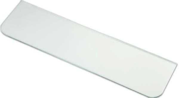 Glasboden 6 mm - klar