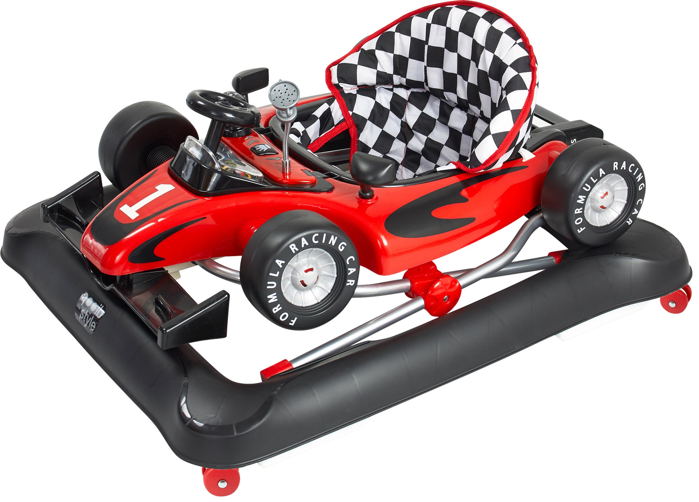 ib style®Little Roadster Babywalker Gehfrei Lauflernwagen Licht /& Musik Baby