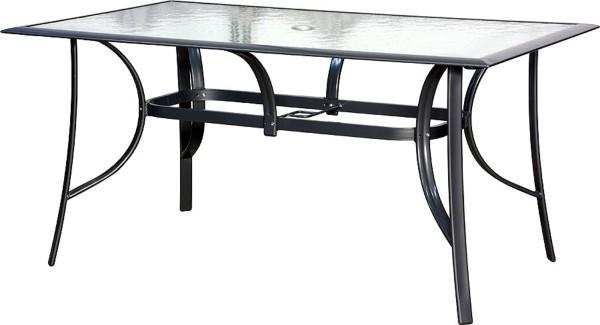 JAMAICA Gartentisch 150 x 90 cm