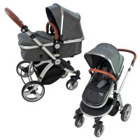 Supreme 2 in 1 Kinderwagen Grau
