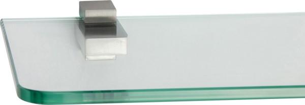 Glasregal 8mm abgerundet + Clip KUBI