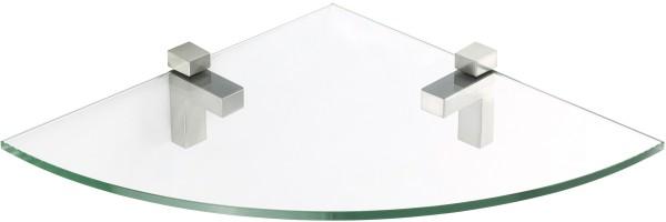 Glasregal Viertelkreis + Clip QUADRO