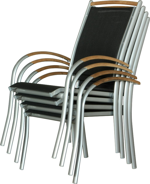 Hochlehner Stapelstuhl.Stühle Outdoor Ib Style