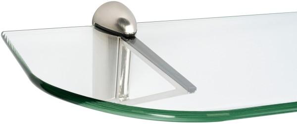 Glasregal 6mm + Clip TRIANGOLO