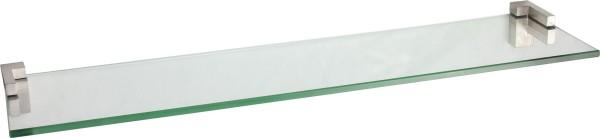 Glasregal 8mm eckig + Clip PIAZZA