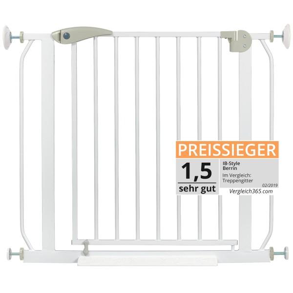 Berrin XXL Treppengitter 85-185 cm