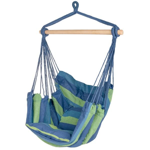 Hängesessel Kalea Blau/Grün