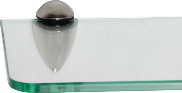 Glasregal 8mm abgerundet + Clip BECCO