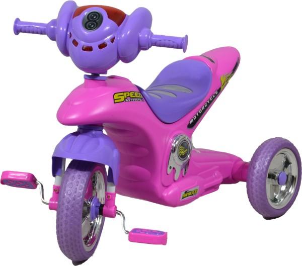 Yuki Dreirad pink