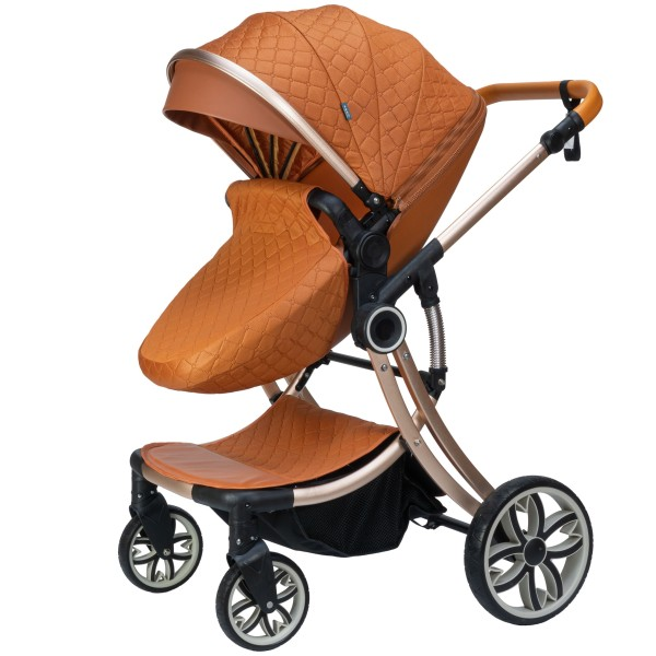 Juma 3 in 1 Kinderwagen inkl. Babyschale   Marron
